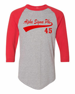 Alpha Sigma Phi Tail Year Raglan