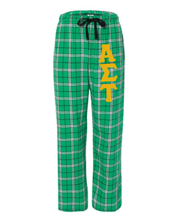 Alpha Sigma Tau Pajamas -  Flannel Plaid Pant