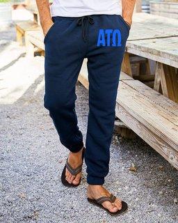Alpha Tau Omega Big Letter Sweatpants