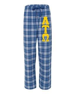 Alpha Tau Omega Pajamas Flannel Pant