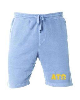 Alpha Tau Omega Pigment-Dyed Fleece Shorts