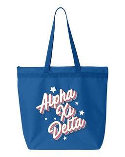 Alpha Xi Delta Flashback Tote Bag