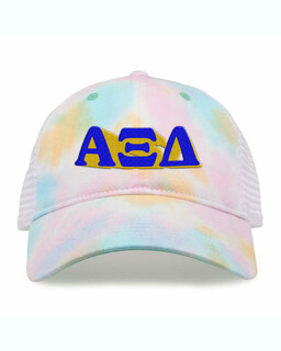 Alpha Xi Delta Sorority Sorbet Tie Dyed Twill Hat