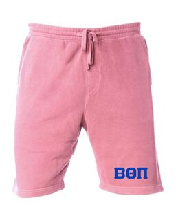 Beta Theta Pi Pigment-Dyed Fleece Shorts