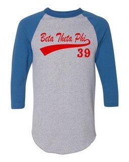 Beta Theta Pi Tail Year Raglan
