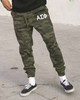 Fraternity Camo Fleece Pants