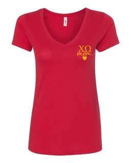 Chi Omega Mom Ideal V-Neck