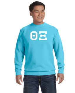 Comfort Colors Greek Varsity Crewneck