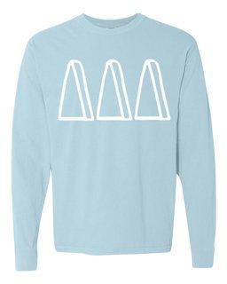 Delta Delta Delta Comfort Colors Greek Long Sleeve T-Shirt
