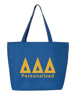 Delta Delta Delta Design Your Own Tote Bag