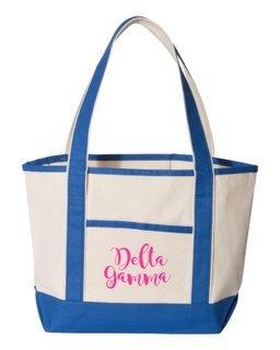 Delta Gamma Sailing Tote Bag
