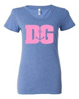 Delta Gamma Billboard Triblend Short SleeveT-Shirt