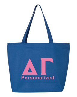 Delta Gamma Design Your Own Tote Bag