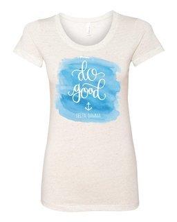 Delta Gamma Do Good Watercolor Triblend Short SleeveT-Shirt