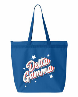 Delta Gamma Flashback Tote bag