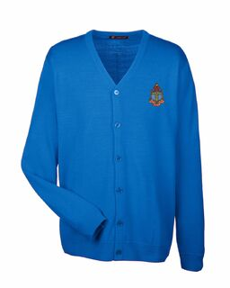 Delta Gamma Greek Letterman Cardigan Sweater