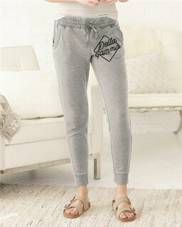 Delta Gamma Enzyme-Washed Rally Joggers