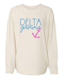 Delta Gamma Script Cozy Crew