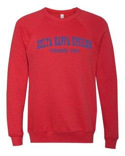 Delta Kappa Epsilon Fraternity Founders Crew Sweatshirt