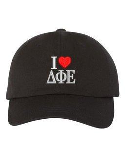 Delta Phi Epsilon I Love Hat