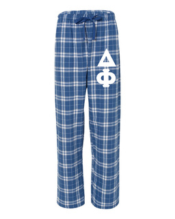 Delta Phi Pajamas Flannel Pant