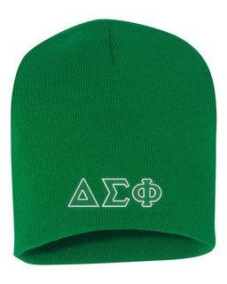 Delta Sigma Phi Big Letter Skull Cap