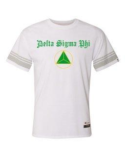 Delta Sigma Phi Champion - Triblend Varsity Tee