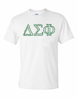 Delta Sigma Phi Christmas Lights Tee