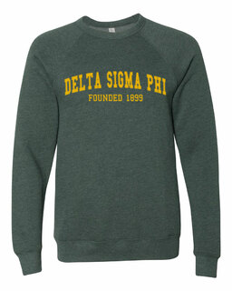 Delta Sigma Phi Fraternity Founders Crew Sweatshirt