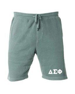 Delta Sigma Phi Pigment-Dyed Fleece Shorts