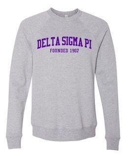 Delta Sigma Pi Fraternity Founders Crew Sweatshirt
