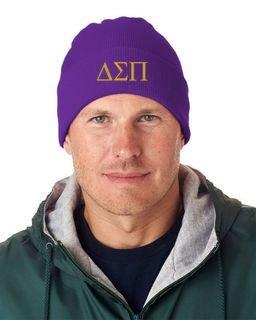 Delta Sigma Pi Greek Letter Knit Cap