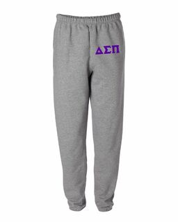 Delta Sigma Pi Greek Lettered Thigh Sweatpants