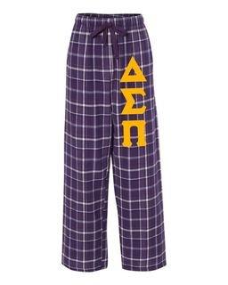 Delta Sigma Pi Pajamas Flannel Pant