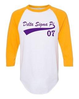 Delta Sigma Pi Tail Year Raglan