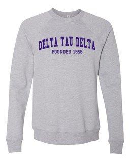 Delta Tau Delta Fraternity Founders Crew Sweatshirt