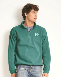 FARMHOUSE Comfort Colors Garment-Dyed Quarter Zip Sweatshirt
