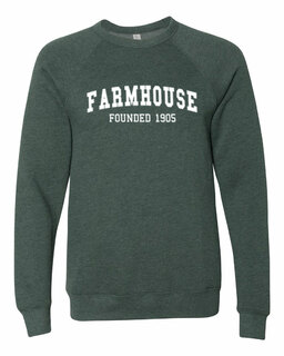 FARMHOUSE Fraternity Founders Crew Sweatshirt
