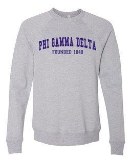 FIJI Fraternity Founders Crew Sweatshirt