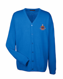 FIJI Fraternity Letterman Cardigan Sweater