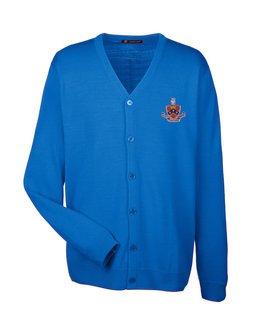 FIJI Fraternity Letterman Cardigan Sweater