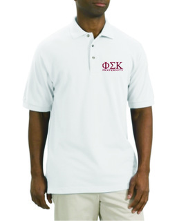 Fraternity Short Sleeved Polo