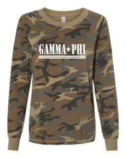 Gamma Phi Beta Camo Crew
