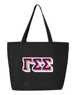 Gamma Sigma Sigma 3D Letter Tote Bag