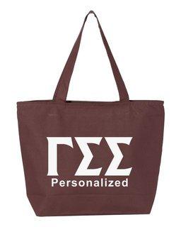 Gamma Sigma Sigma Design Your Own Tote Bag