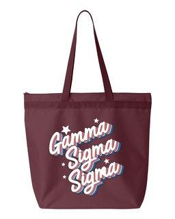 Gamma Sigma Sigma Flashback Tote Bag