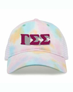 Gamma Sigma Sigma Sorority Sorbet Tie Dyed Twill Hat
