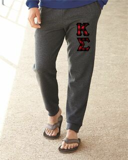 "Greek Lettered Joggers (3"" Letters)"