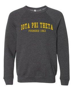 Iota Phi Theta Fraternity Founders Crew Sweatshirt