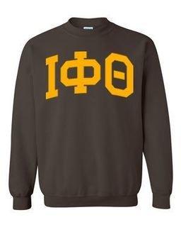 Iota Phi Theta Greek Lettered Arch Crewneck Sweatshirt